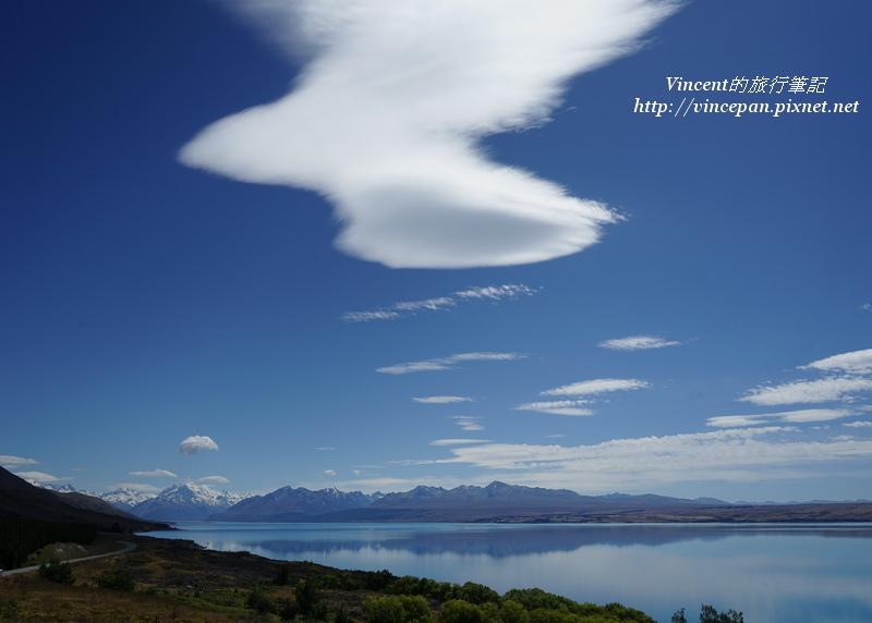 Lake Pukaki牛奶湖 雲