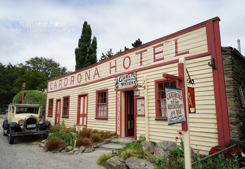 Cardrona Hotel front