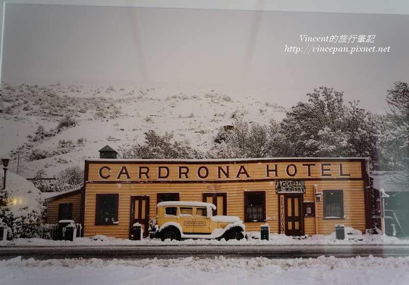 Cardrona Hotel old pic