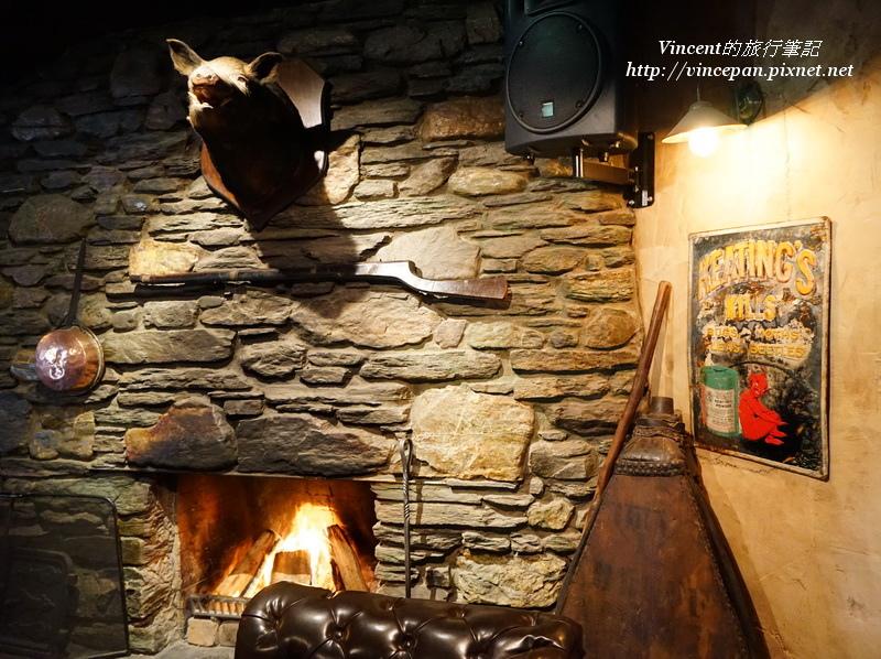 開放式壁爐