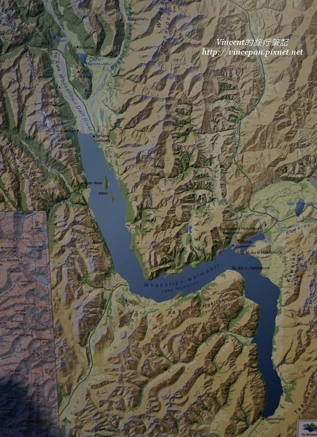 瓦卡蒂波湖形狀