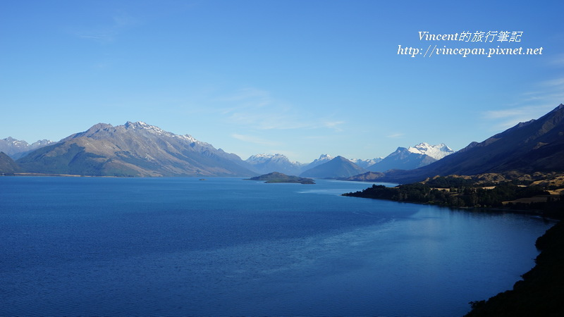 Lake Wakatipu 3 islands