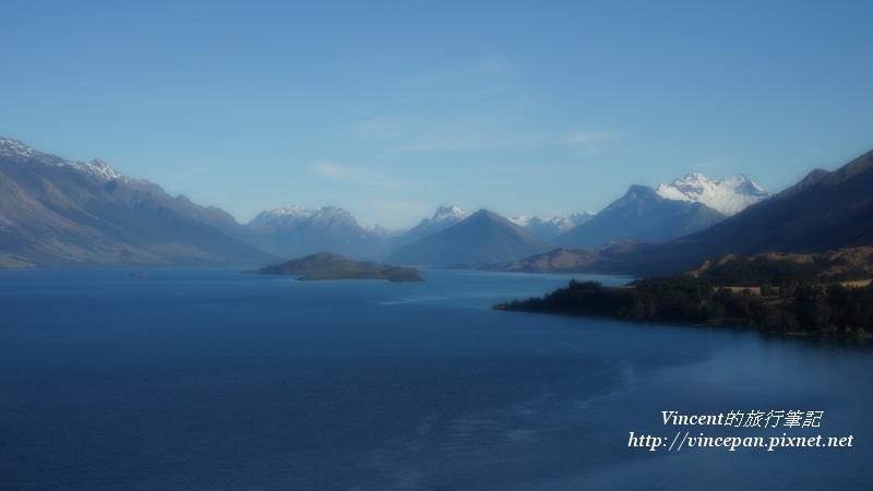 Lake Wakatipu mist