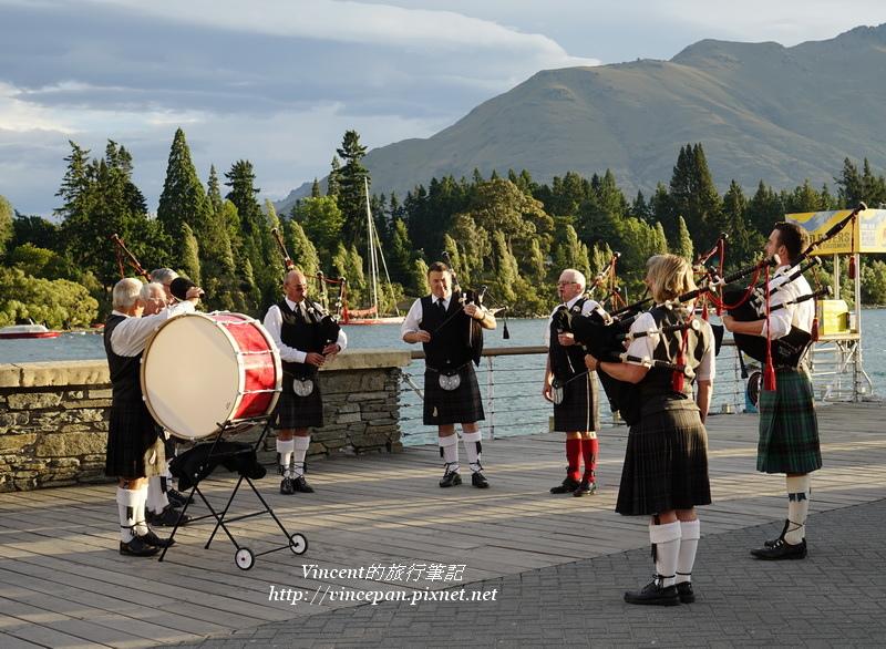 蘇格蘭風笛表演
