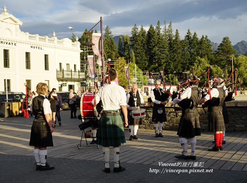 蘇格蘭風笛表演1