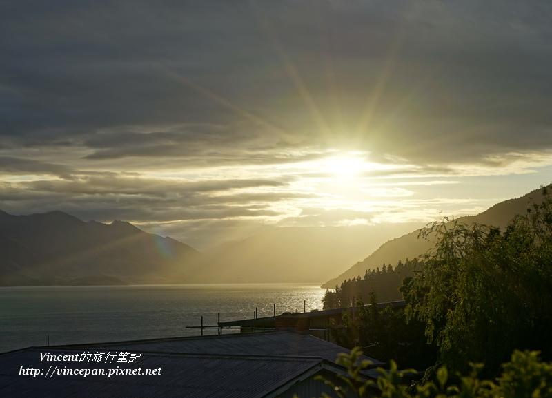 瓦卡蒂波湖夕陽