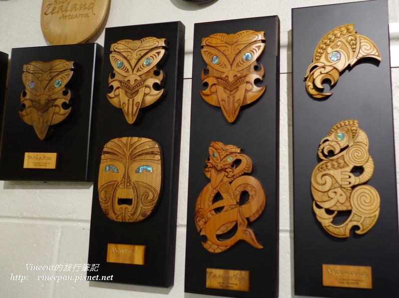 毛利族面具圖騰
