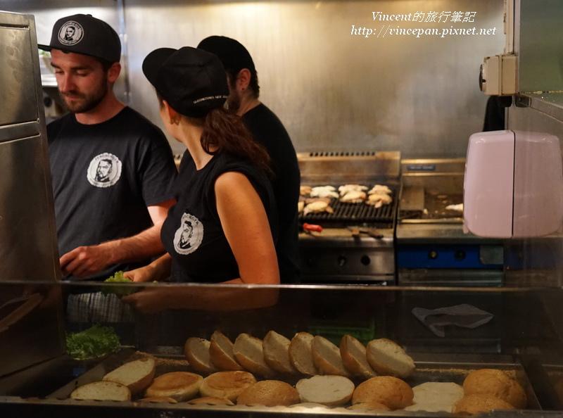Fergburger 工作人員 漢堡