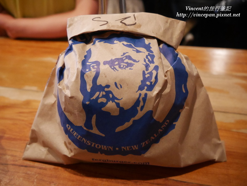 Fergburger漢堡袋子
