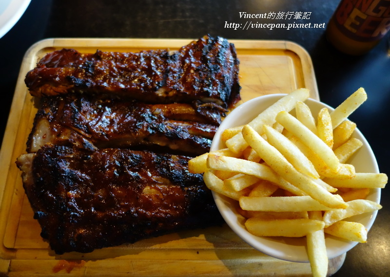 Flame Ribs & Chips