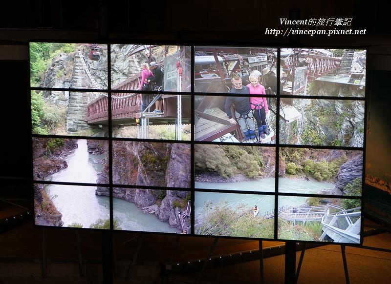 大廳的電視牆