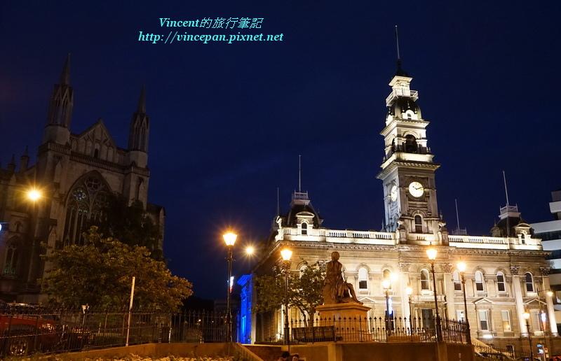 市政廳與聖保羅大教堂 夜景 3