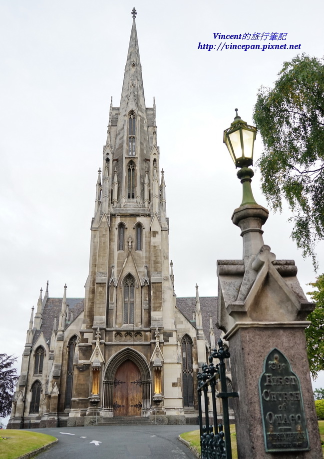 First Church of Otago 門口