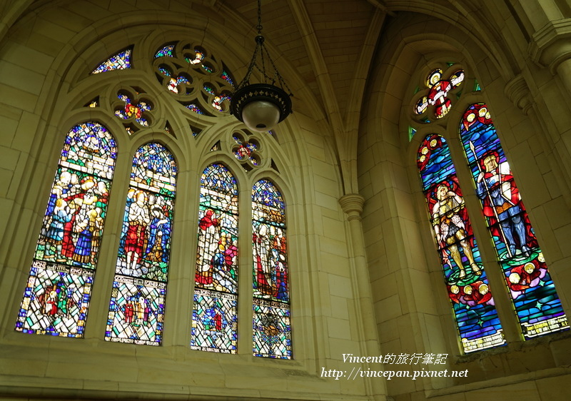聖保羅 彩繪玻璃窗3