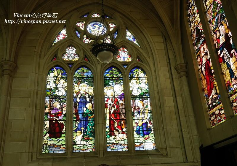 聖保羅 彩繪玻璃窗2
