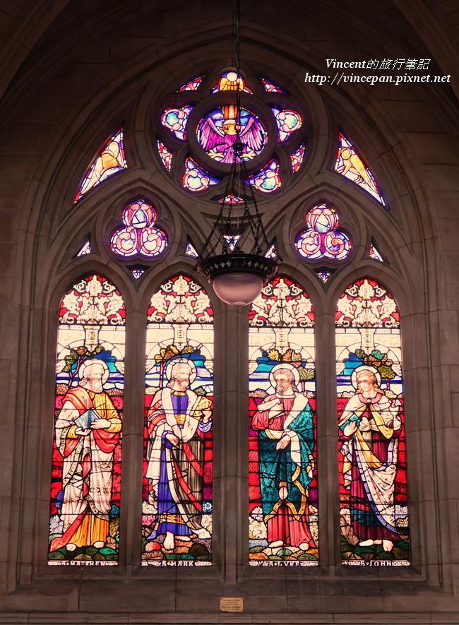 聖保羅 彩繪玻璃窗1