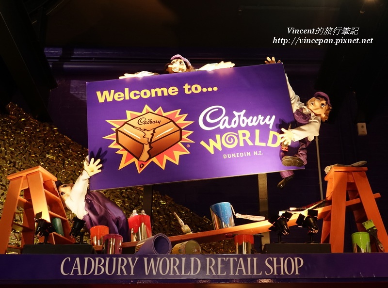 Cadbury World shop