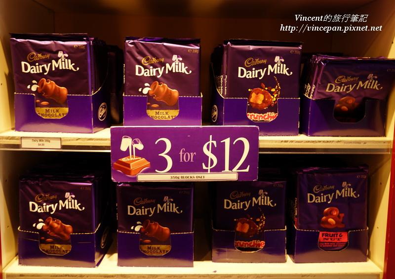 吉百利牛奶巧克力