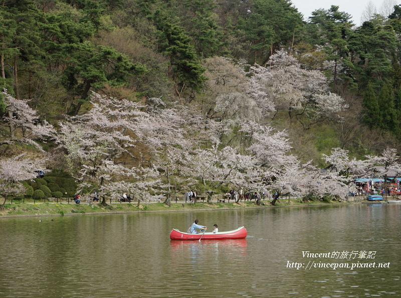臥龍公園竜ヶ池划船
