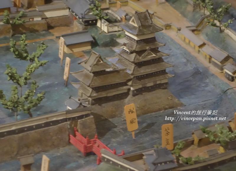 城下町的模型