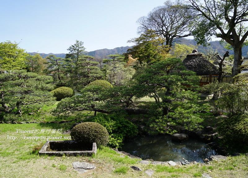 真田邸的庭園
