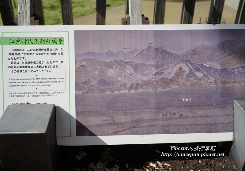 戌亥隅櫓台 江戶時期風景