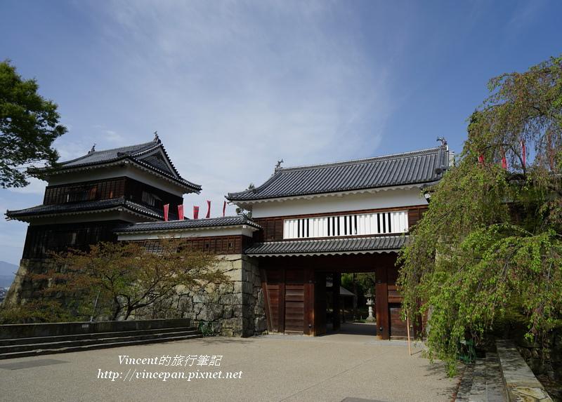 上田城城門 南櫓