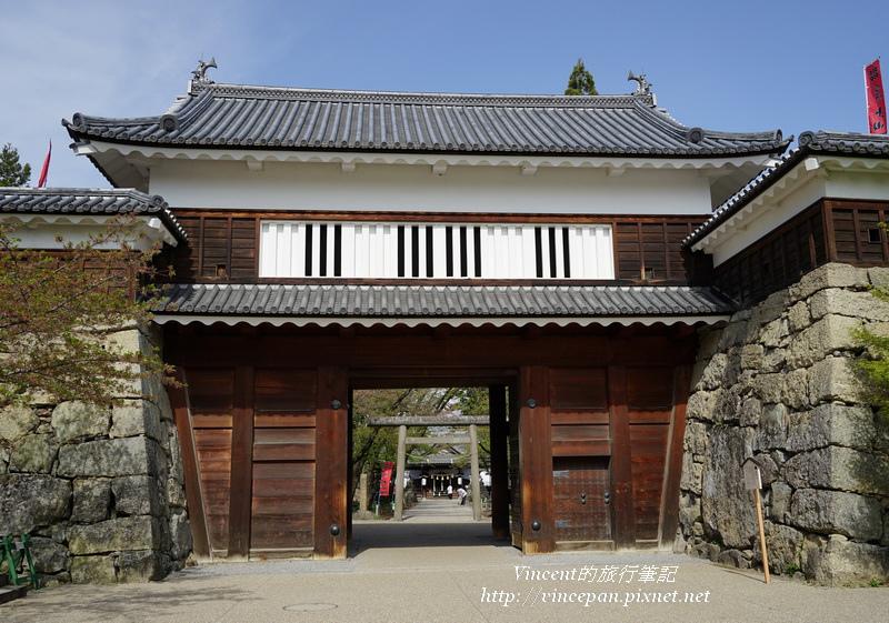 上田城城門