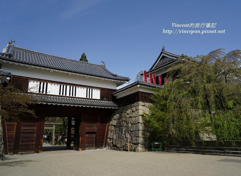 上田城城門、北櫓