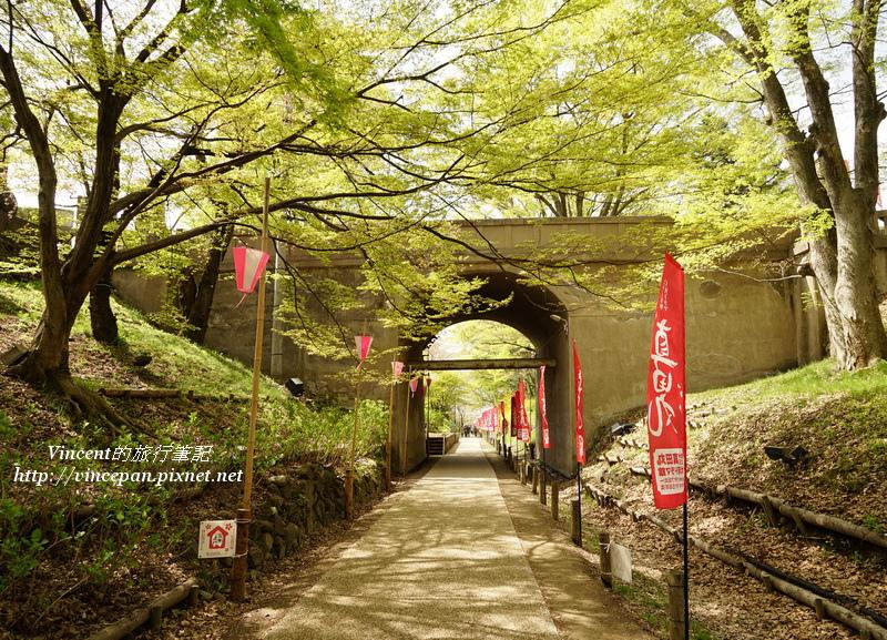 並木步道 二之丸橋