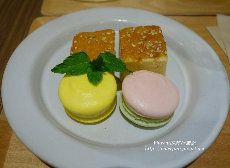 七味粉馬卡龍 蛋糕