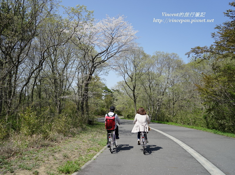 騎著單車前往見晴之丘