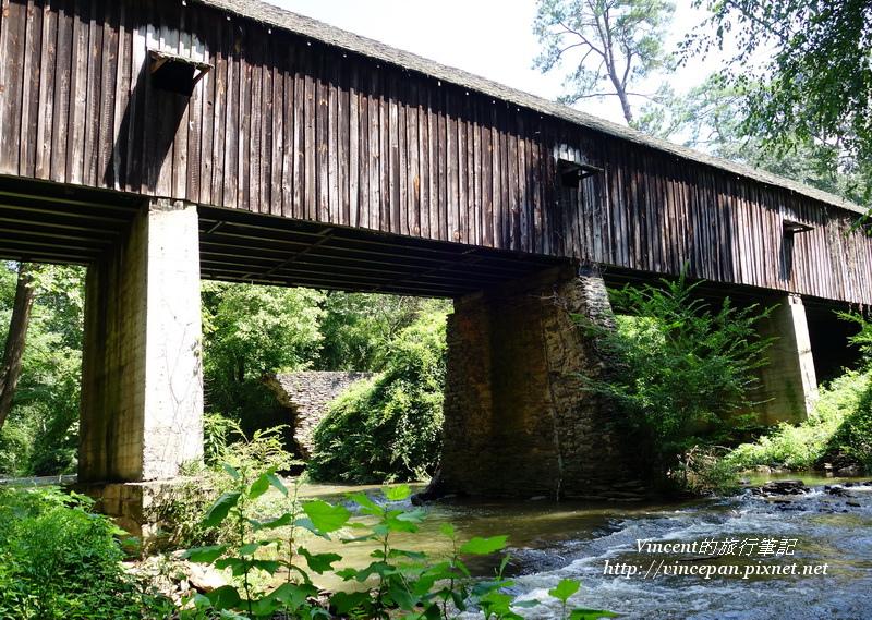 Concord Bridge新舊橋墩