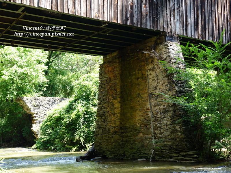 Concord Bridge橋墩