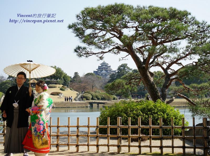 岡山城 後樂園