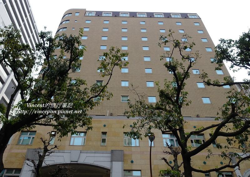 岡山後樂飯店 外觀