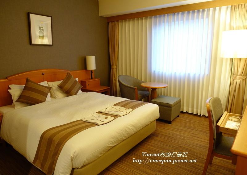 岡山後樂飯店床