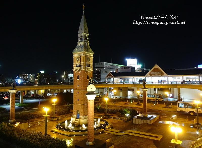 Ario倉敷廣場夜景