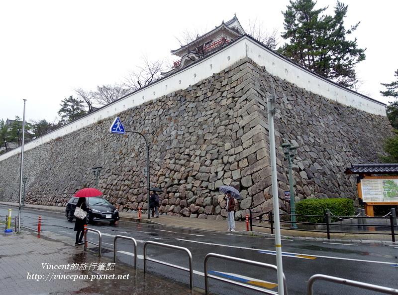 福山城城牆
