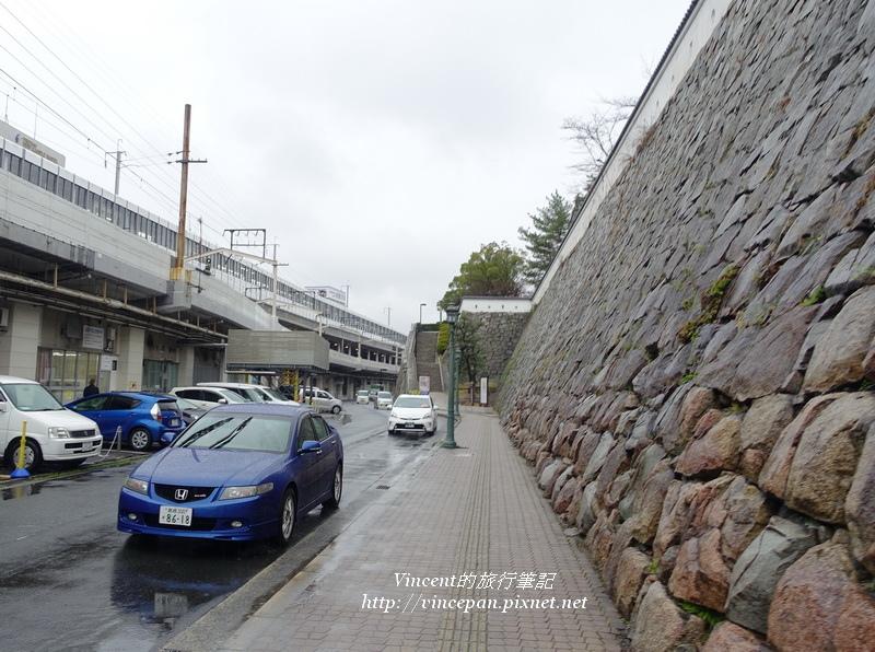 福山城牆 馬路