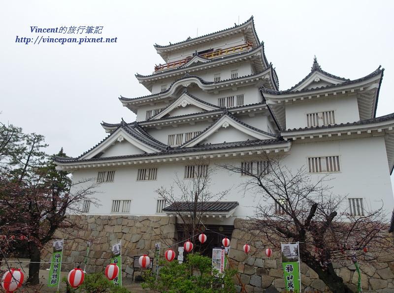 福山城公園 櫻花樹