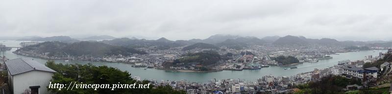 尾道海港全景
