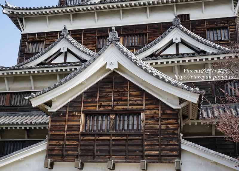 廣島城天守閣 木造外觀