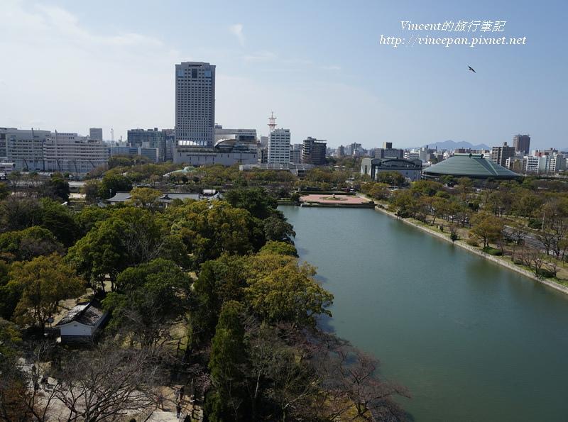 5樓瞭望 護城河