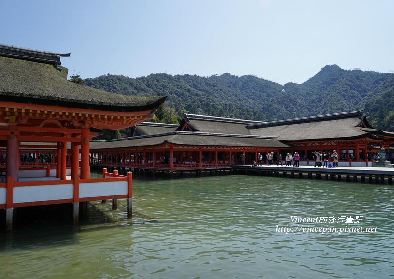 嚴島神社的建築