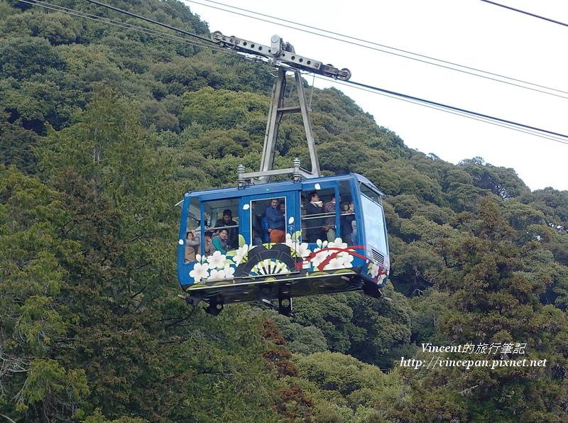 岩国城纜車