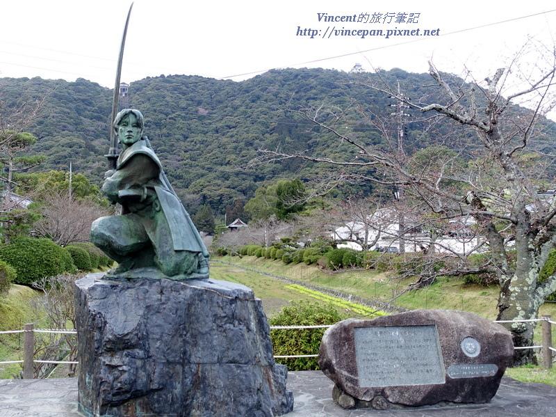 佐佐木小次郎雕像