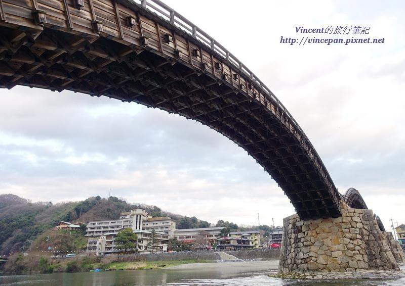 錦帶橋下方 技術