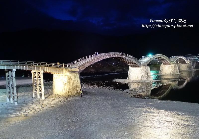 錦帶橋 拱橋夜景