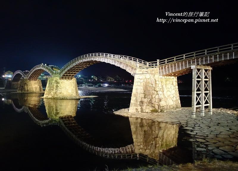 錦帶橋 夜景1